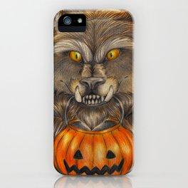 Knock Knock! Trick or Treat! iPhone Case
