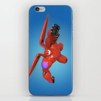 big hero 6 iPhone & iPod Skins featuring Baymax Big Hero 6 by ZariusArts