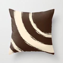 Brush Strokes V2 Throw Pillow
