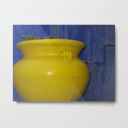 Pottery in Guanajuato, Mexico (2005b) Metal Print