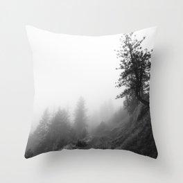 October fog Throw Pillow