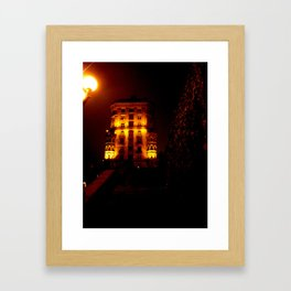 Night Crest 6 Framed Art Print
