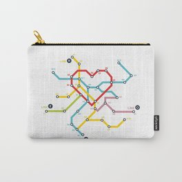 Home Where The Heart Is Carry-All Pouch