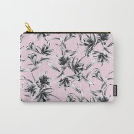 Lilium Pattern in rose Carry-All Pouch
