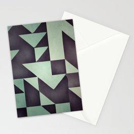 :: geometric maze VIII :: Stationery Cards