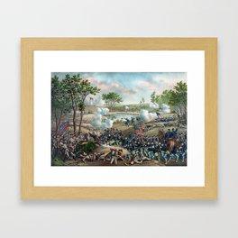 Battle of Cold Harbor Framed Art Print