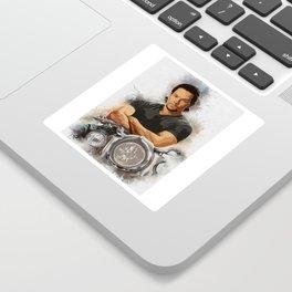 Mark Wahlberg Portrait Sticker