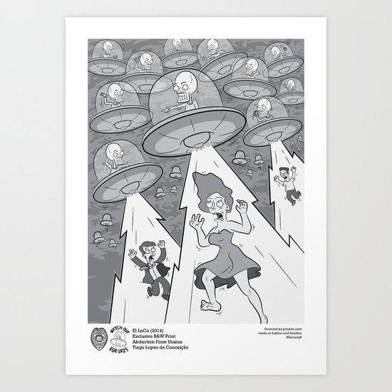 Abduction From Uranus Art Print
