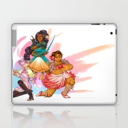 Magical Girl Floral Fighter Squad Laptop & iPad Skin