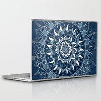 dark side of the moon Laptop & iPad Skins featuring The Dark Side of the Moon by Tangerine-Tane