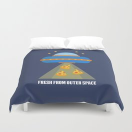 Pizza Delivery Duvet Cover