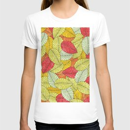 Let the Leaves Fall #10 T-shirt