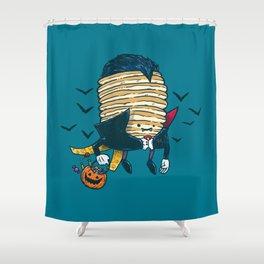 Spooky Pancake Shower Curtain