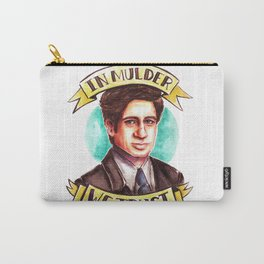 In Mulder We Trust Carry-All Pouch