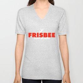 Frisbee Shirt Unisex V-Neck