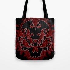 Killer Skull Red Tote Bag