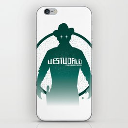 WESTWORLD iPhone Skin