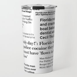 Florida People Travel Mug