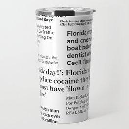 Florida People Travel Mug