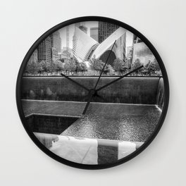 Honoring The Absence Wall Clock