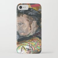 patrick iPhone & iPod Cases featuring patrick by rAr : Art by Robyn Ashley Rosner