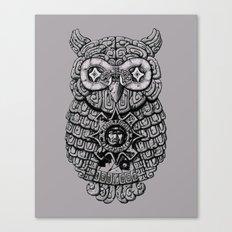 Ancient Owl Canvas Print