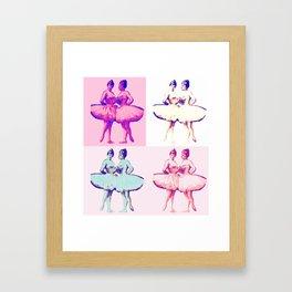 Ballet Pop Art Framed Art Print