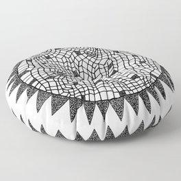 Sun or Star Floor Pillow