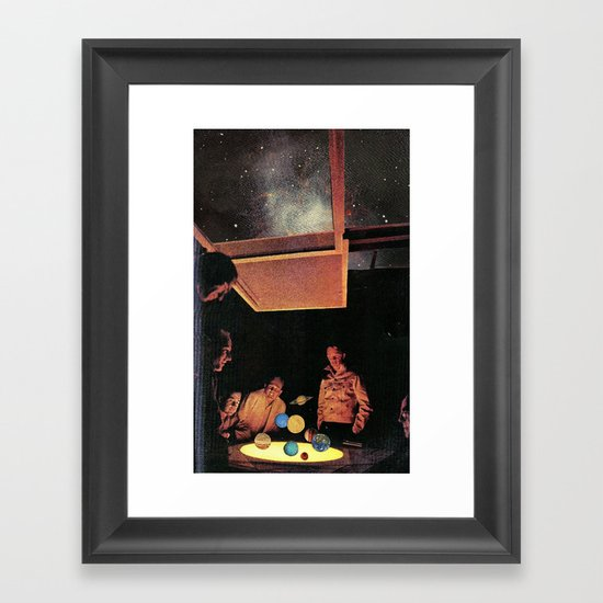Colonists Framed Art Print