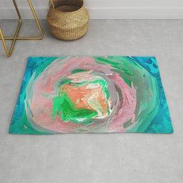 Abstract Colourful Mandala 1756 Rug