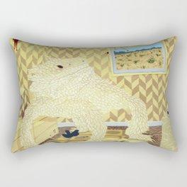 Horned Lizard Rectangular Pillow
