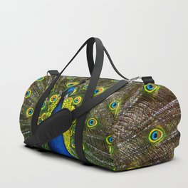 Colorful peacock Duffle Bag