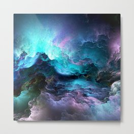 Computer Graphics Art - 6 Metal Print