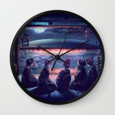 Night Guest  Wall Clock