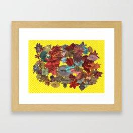 Harmonic Flowers Framed Art Print