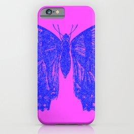 Neon Pop Butterfly  iPhone Case