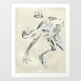 Angel Dancer Art Print