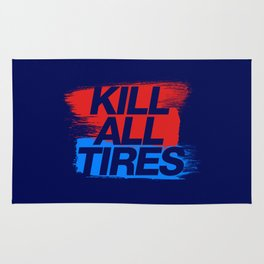 Kill All Tires v3 HQvector Rug