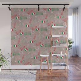 Italian pattern, bright version Wall Mural