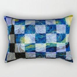Starlight Night Rectangular Pillow