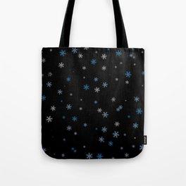 Snowy Blues | Veronica Nagorny Tote Bag