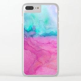 Tidal II Clear iPhone Case