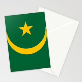 Maritania Flag Stationery Cards
