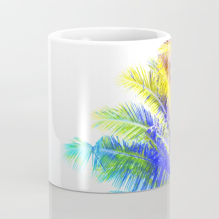 Fantasic Rainbow Palm Tree Coffee Mug