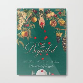 The Beguiled alternative movie poster Metal Print