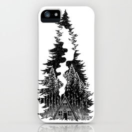 Forest Night iPhone Case
