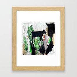 Walking free - Vegan Series - Original Painting by MARINA TALIERA Framed Art Print