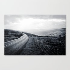 Sunbreak over Dale Canvas Print