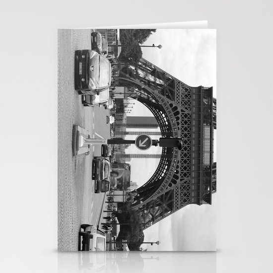 Paris transport Stationery Cards