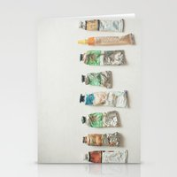 oil Stationery Cards featuring Oil Paints by Cassia Beck